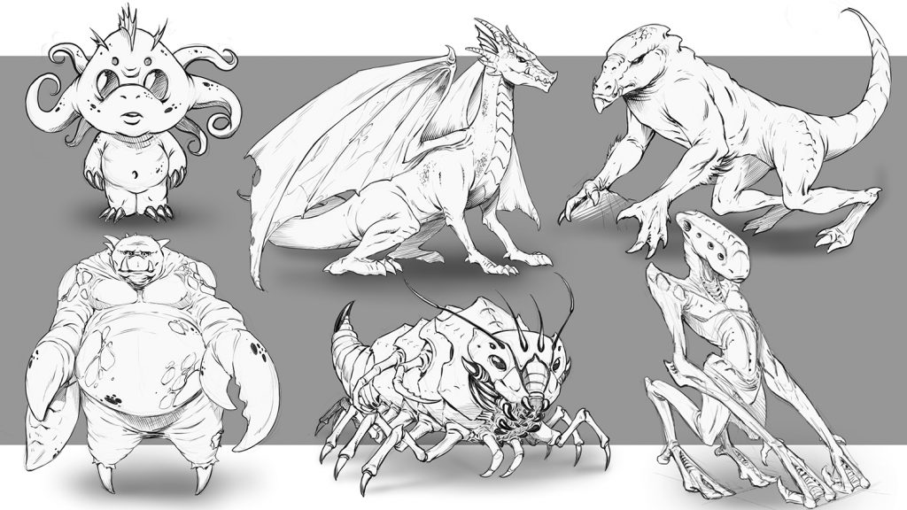 Creature Design Class