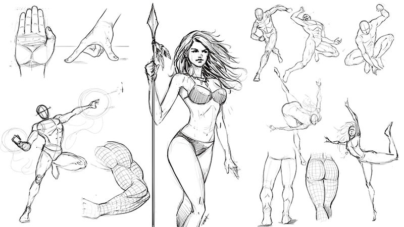 How to Improve Your Figure Drawing Step by Step